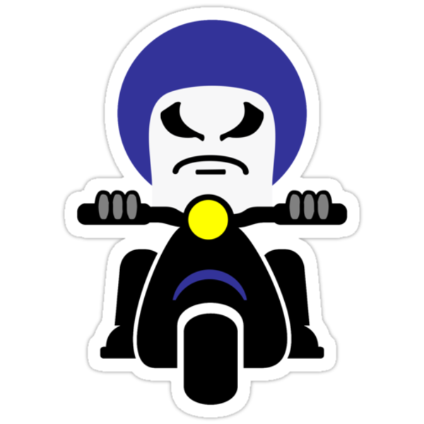 Bad Dude on a Scooter VRS2 by vivendulies