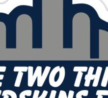 Dallas - Hate 2 Things Sticker