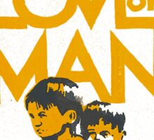 UNITY IN OUR LOVE OF MAN Sticker