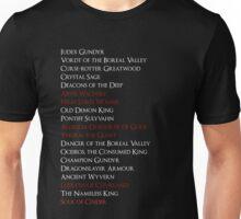 Dark Souls 3: Bosses Unisex T-Shirt