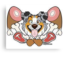 Dog Meat - Aussie Canvas Print