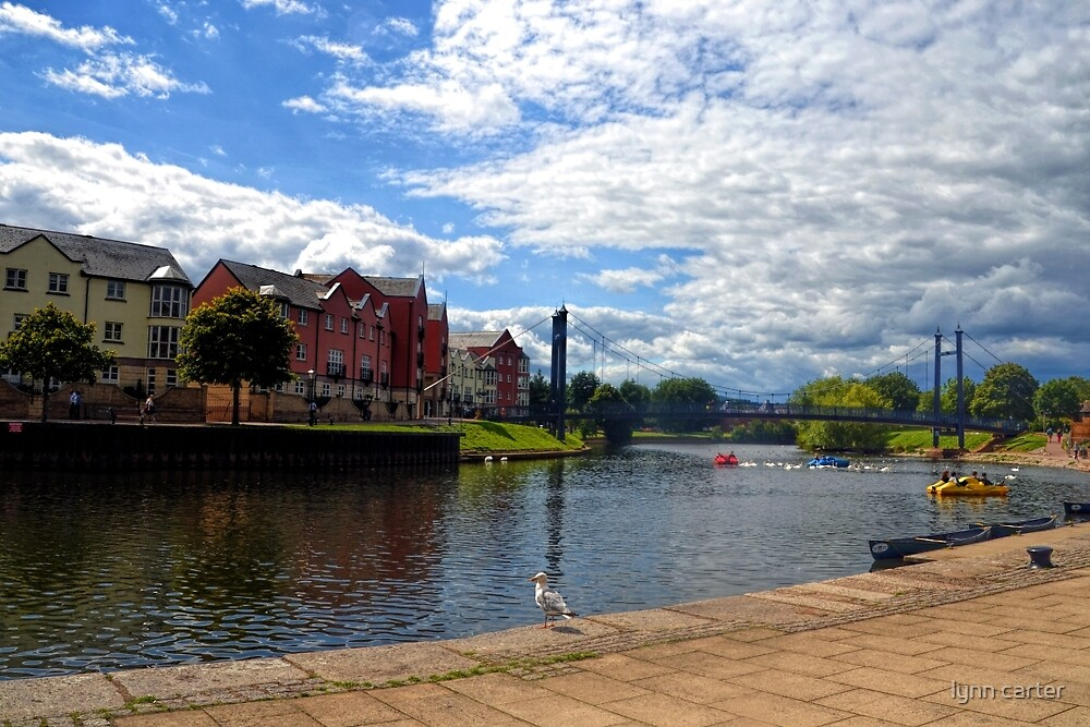 Canal View..............Exeter,Devon.UK by lynn carter