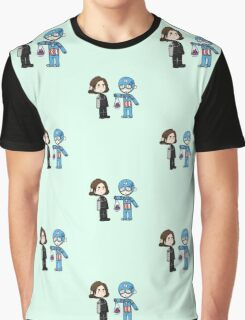 Bucky And Captain America Graphic T-Shirt