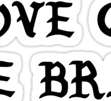 RIHANNA - LOVE ON THE BRAIN  Sticker