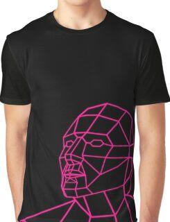 Facial Geometry Graphic T-Shirt