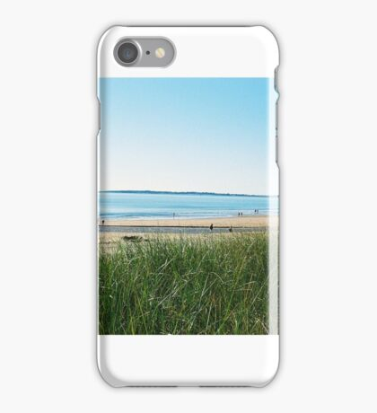 Dune Grass at Old Orchard Beach iPhone Case/Skin