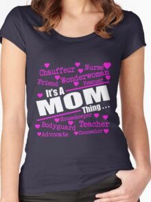 It Is A Mom Thing... Women's Fitted Scoop T-Shirt
