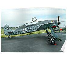 Focke-Wulf Fw 190F-8/U-1 583219 black 38 Poster