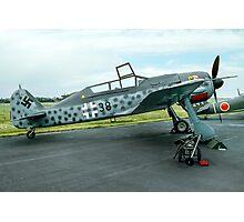 Focke-Wulf Fw 190F-8/U-1 583219 black 38 Photographic Print