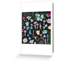 Garden Witch Greeting Card
