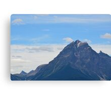 Alberta Mountains Canvas Print