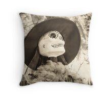 Halloween The Catrina  Throw Pillow