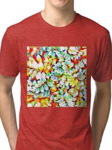 Tropical Foliage Tri-blend T-Shirt