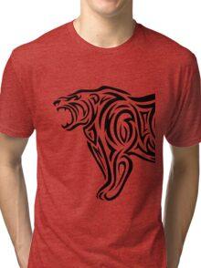 Tribal Bear Tri-blend T-Shirt