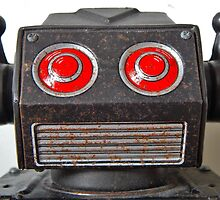 'Badbot', tin robot. by anarchyape1972