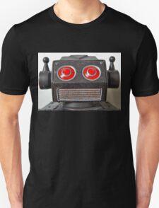 'Badbot', tin robot. Unisex T-Shirt