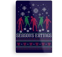 Season's Eatings Metal Print