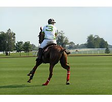 Polo Player Photographic Print