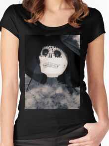 Halloween The Catrina Women's Fitted Scoop T-Shirt