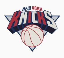 NY Knicks USA Logo Kids Tee
