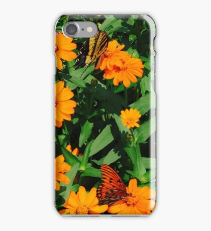 Tiger Swallowtail - American Lady iPhone Case/Skin