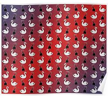 Captain Swan pattern Poster