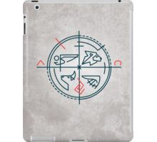 Abstract contemporary religious symbol iPad Case/Skin