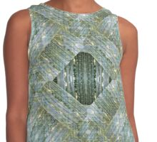 Bamboo Diamonds Contrast Tank