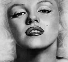Marilyn Monroe by kturnerportrait