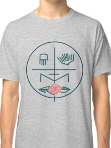 Abstract contemporary religious symbol Classic T-Shirt