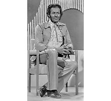 Chuck Berry, seated Photographic Print
