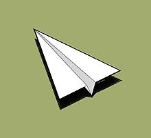 Paper Airplane 1 by YoPedro