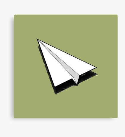 Paper Airplane 1 Canvas Print