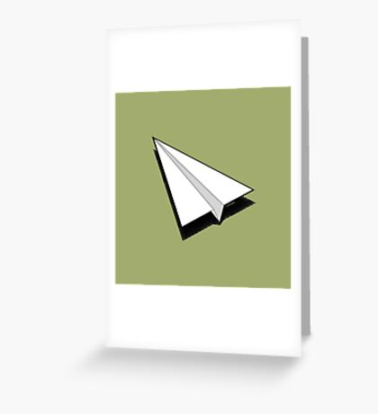 Paper Airplane 1 Greeting Card