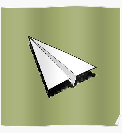 Paper Airplane 1 Poster