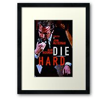 DIE HARD 15 Framed Print