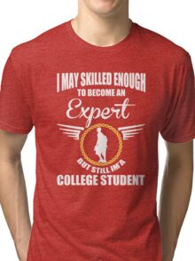 College Student Tri-blend T-Shirt
