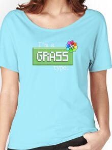 Grass Type - PKMN Women's Relaxed Fit T-Shirt