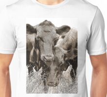 Friendly Cows Unisex T-Shirt