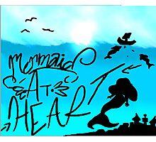 mermaid at heart Photographic Print
