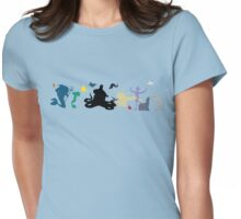 Little Mermaid Crew Womens Fitted T-Shirt