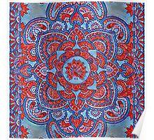Persian Peacock Poster