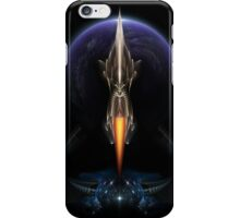 Vision Of Flight On Black iPhone Case/Skin