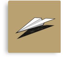 Paper Airplane 2 Canvas Print