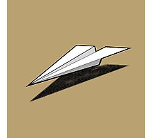 Paper Airplane 2 Photographic Print