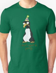 Party Penguin Unisex T-Shirt