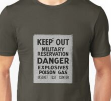 keep out Unisex T-Shirt