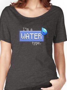 Water Type - PKMN Women's Relaxed Fit T-Shirt