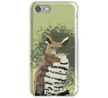Horned Owl iPhone Case/Skin