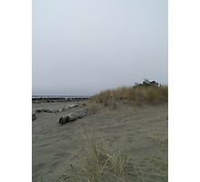 Thoughtful Beach Photographic Print